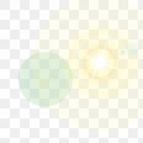 Lens Flare - Sunlight Halo PNG