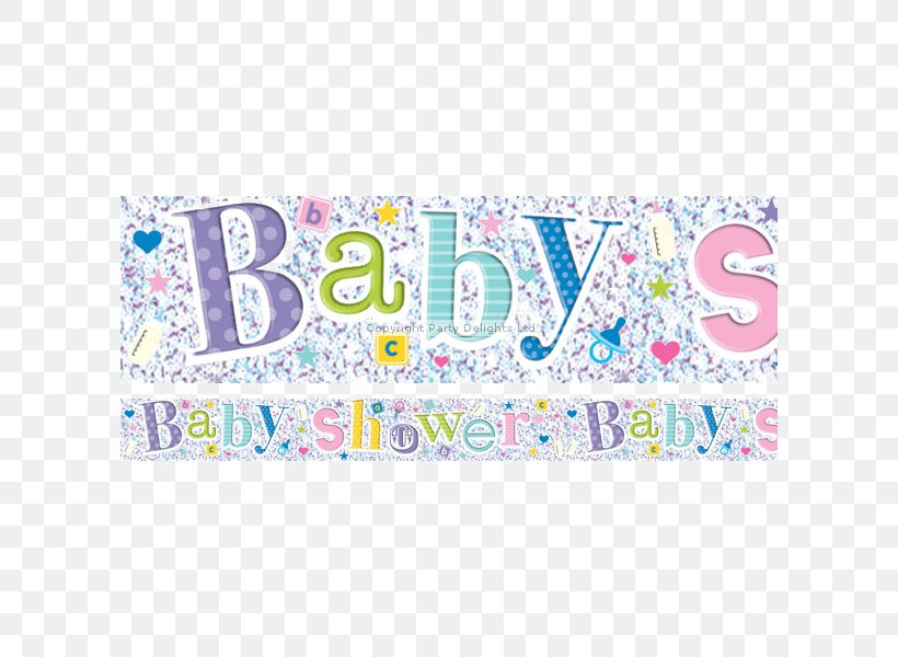 Baby Shower Banner Party Foil Infant Png 600x600px Watercolor Cartoon Flower Frame Heart Download Free