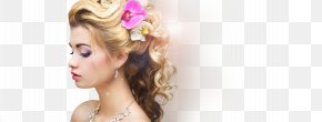 Hair - Beauty Parlour Long Hair Hairstyle Make-up Artist PNG