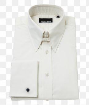 Shirt - Collar Pin Dress Shirt Suit PNG