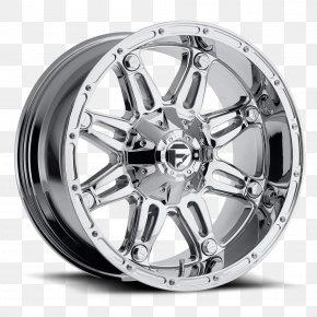 Ford Maverick - Custom Wheel Rim Fuel Chrome Plating PNG