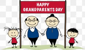 Grandparents Day Cliparts - National Grandparents Day Family Clip Art PNG