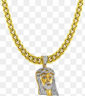 Gold Necklace - Necklace Gold Chain Jewellery Pendant PNG
