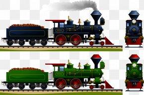 Steam Train - Train Rail Transport Steam Locomotive PNG