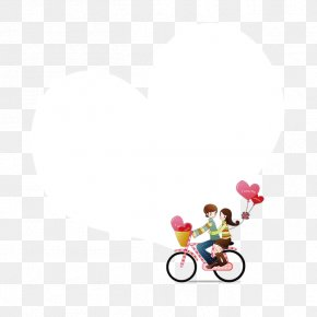 Cartoon Couple - Wall Decal Sticker Polyvinyl Chloride PNG