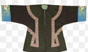 Black Dress Coat Of The Qing Dynasty - Qing Dynasty Emperor Of China U6e05u671du670du98fe Dress PNG