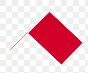 Triangle Flag Red Flag - Triangle Line Product Design PNG