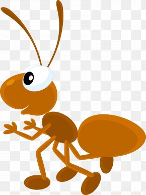Vector Cartoon Ants - Ant Insect Drawing Digital Image Illustration PNG