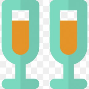 Champagne - Champagne Wine Glass PNG