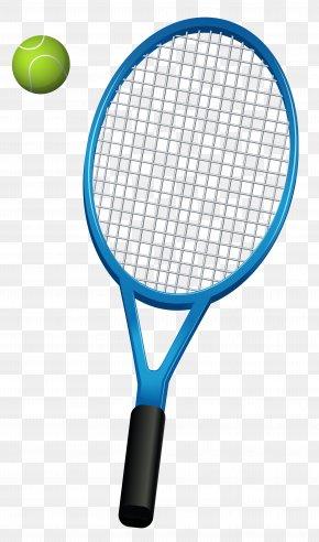 Tennis Racket Vector Clipart - Racket Tecnifibre Tennis Strings Head PNG