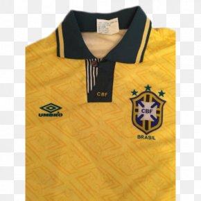 T-shirt - Brazilian Constitutional Referendum, 1993 T-shirt Brazil National Football Team Sleeve PNG