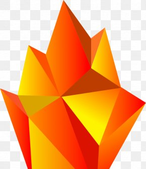 Low Poly - Fire Low Poly Flame Creativity PNG