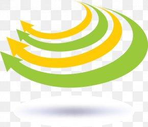 Yellow And Green Arrow Vector - Green Arrow Clip Art PNG