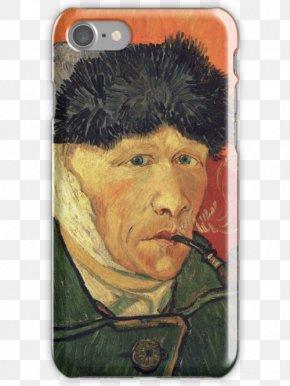Vincent Van Gogh - Vincent Van Gogh Self-Portrait With Bandaged Ear And Pipe Van Gogh Self-portrait Arles PNG