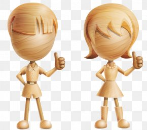 Woodcarving Children - Character 3D Computer Graphics Cartoon Drawing PNG