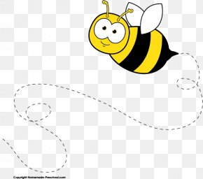 Teacher Flying Cliparts - Bumblebee Free Content Clip Art PNG