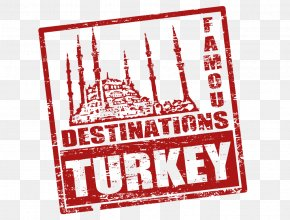 Turkey Red Seal - Istanbul Turkey Royalty-free Postage Stamp PNG