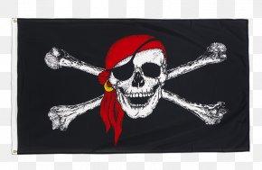 Flag - Jolly Roger Flag Brethren Of The Coast Piracy Skull And Crossbones PNG
