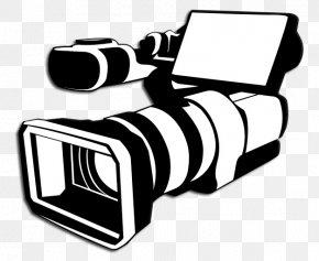 Camera - Photographic Film Video Cameras Clip Art Professional Video Camera PNG