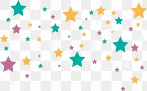 Color Five Pointed Star Pattern - Dixon Chi-Town Vapers Doctorate Graduate University Clip Art PNG