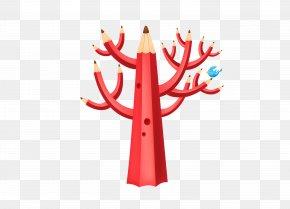 Pencil Tree - Pencil Tree Clip Art PNG