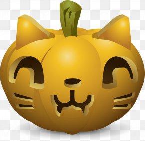 Pumpkin Mask - Cat Pumpkin Pie Kitten Clip Art PNG