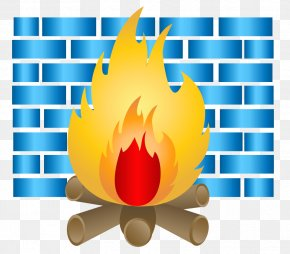 Blue Flame Wall - Pixel Blue Clip Art PNG