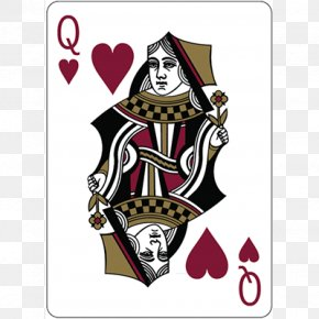 Queen - Queen Of Hearts Playing Card Card Game Suit PNG