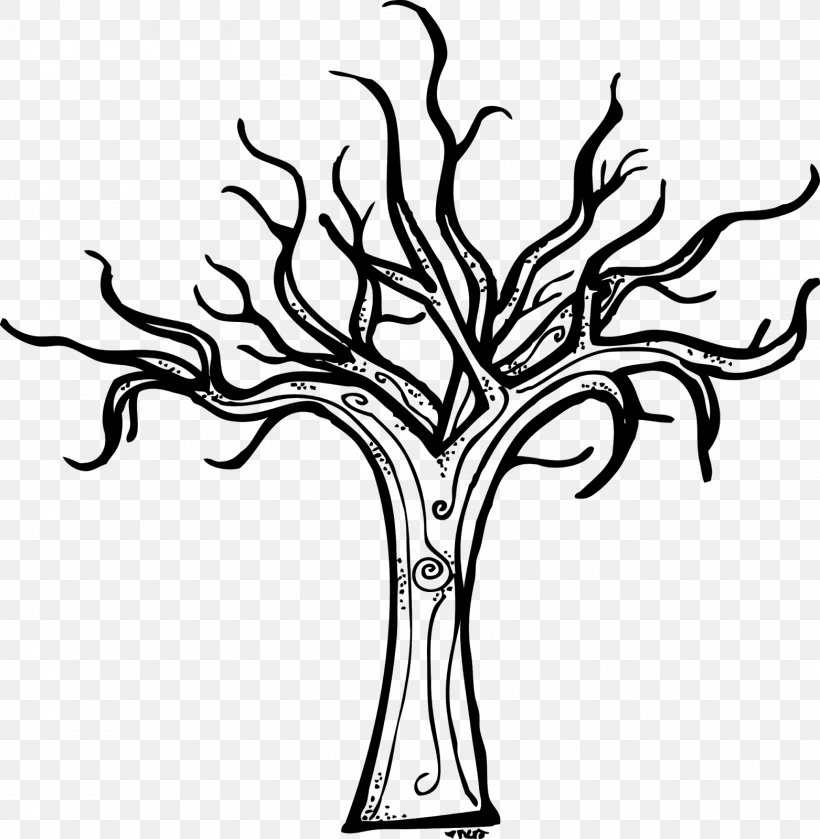 Tree Winter Diagram Clip Art, PNG, 1563x1600px, Tree, Black, Black And White, Blog, Branch Download Free