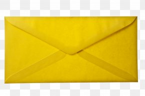 Envelope - Paper Envelope Yellow Art Triangle PNG