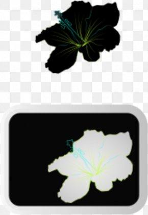 Picture Of Hibiscus Plant - Shoeblackplant Flower Clip Art PNG