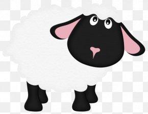 Cartoon Sheep - Black Sheep Goat Clip Art PNG