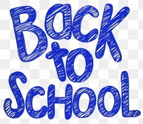 Back To School Clip Art Image - School Writing PNG