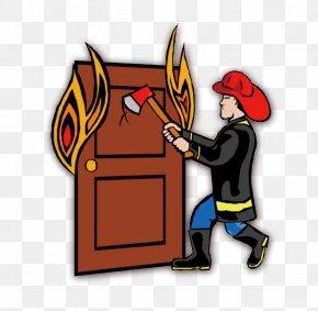 Cartoon Fire - Firefighter Clip Art PNG