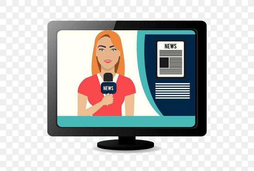 Journalism Royalty-free Illustration, PNG, 600x553px, Journalism, Broadcasting, Communication, Computer Monitor, Digital Journalism Download Free