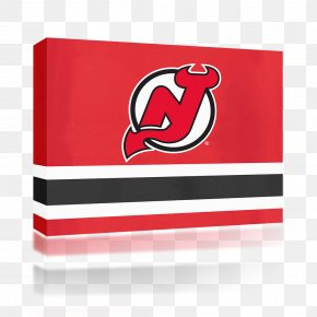 Stamp New - New Jersey Devils National Hockey League Prudential Center Logo Ice Hockey PNG