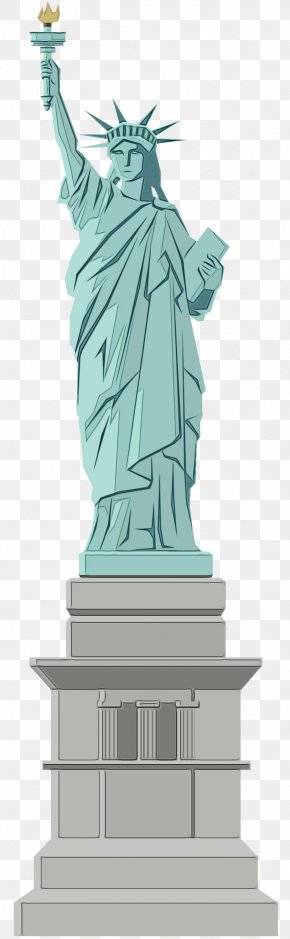 Statue Of Liberty National Monument Illustration Sculpture Drawing PNG
