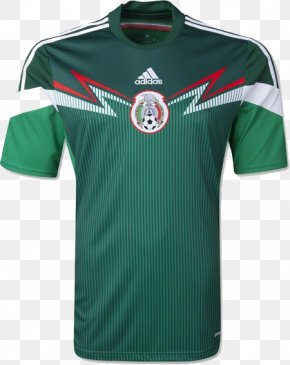 Adidas Shirt - 2014 FIFA World Cup Mexico National Football Team 2018 FIFA World Cup Jersey Kit PNG
