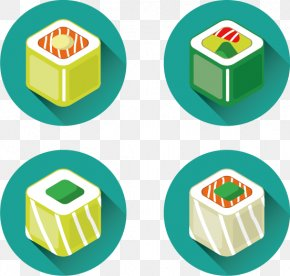 Vector Sushi - Sushi Japanese Cuisine Euclidean Vector Icon PNG