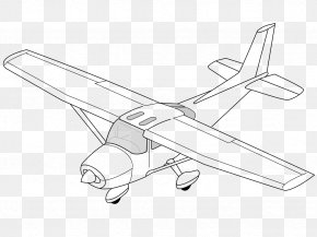 Plane - Cessna 172 Airplane Cessna Skymaster Clip Art PNG