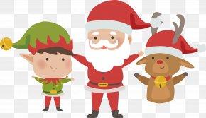 Santa Elf - Santa Claus Elf Christmas PNG