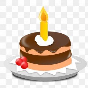 Pic Of Birthday Cake - Birthday Cake Cupcake Clip Art PNG