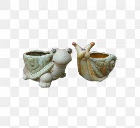 Snail Tortoise Flowerpot Flowerpot - Flowerpot Vase Ceramic PNG