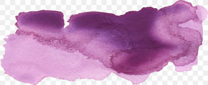 Watercolor Painting Drawing, PNG, 1024x421px, Watercolor Painting, Brush, Drawing, Lilac, Magenta Download Free