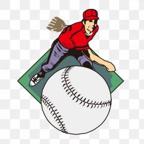 Hand-painted Golf - Baseball Player Sport Softball PNG