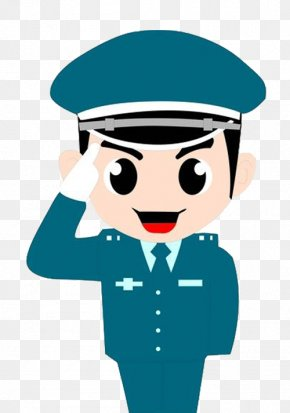 Smiling Male Police - Police Officer Security Guard U8f14u8b66 Sina Weibo PNG