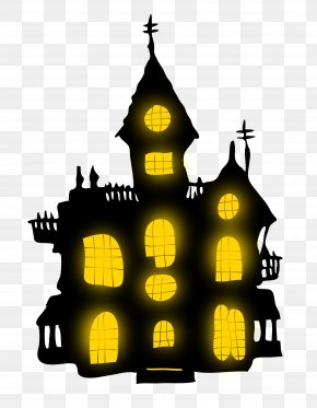 Halloween - Halloween Haunted House Haunted Attraction Clip Art PNG