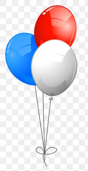 July 1 Cliparts - United States Balloon Blue Independence Day Clip Art PNG