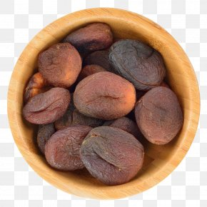 A Wooden Bowl Of Dried Apricots - Juice Dried Fruit Dried Apricot Food Drying PNG