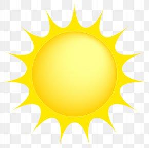 Sun Transparent Clip Art Image - Yellow Clip Art PNG
